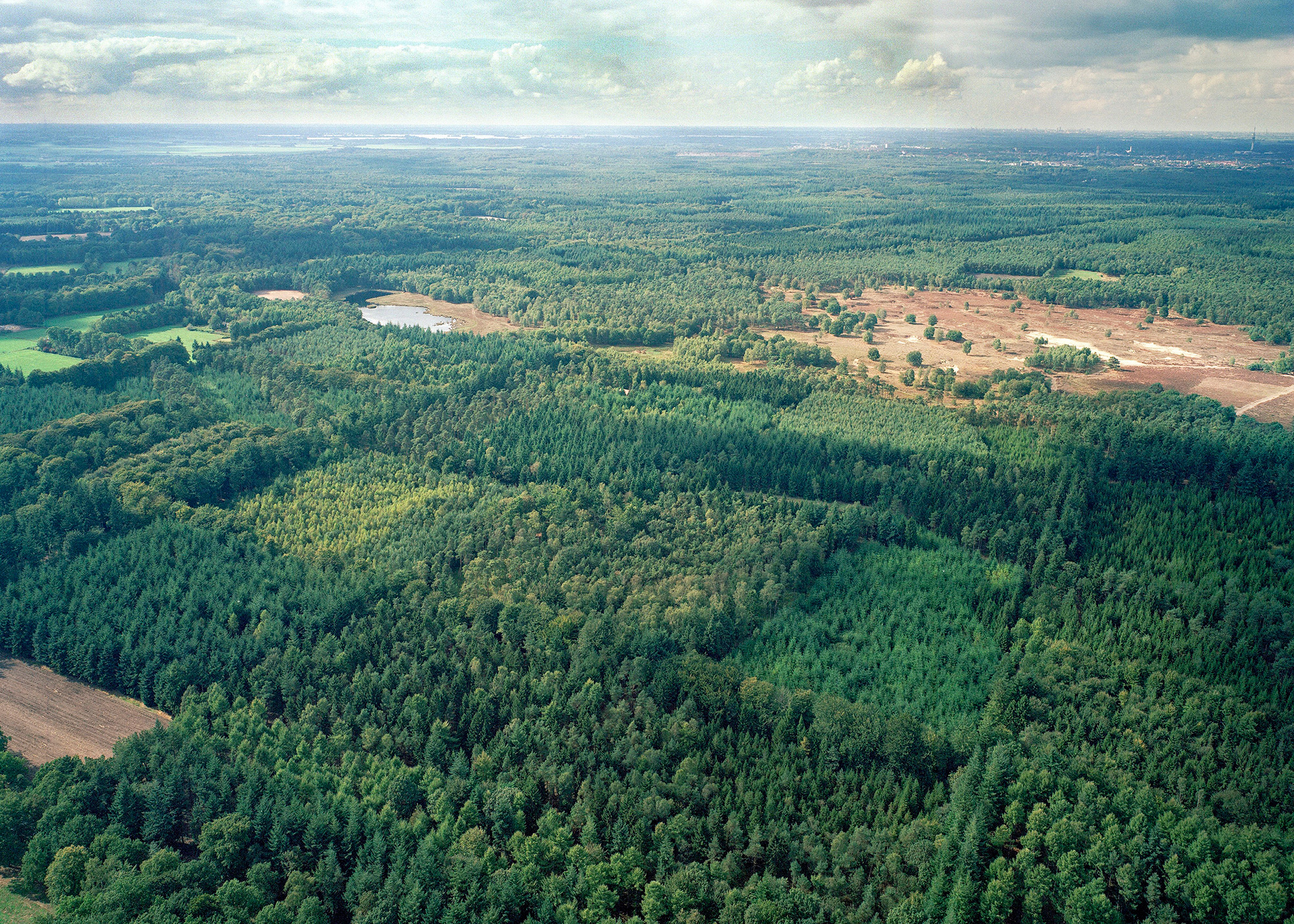 Luchtfoto Landgoed Pijnenburg