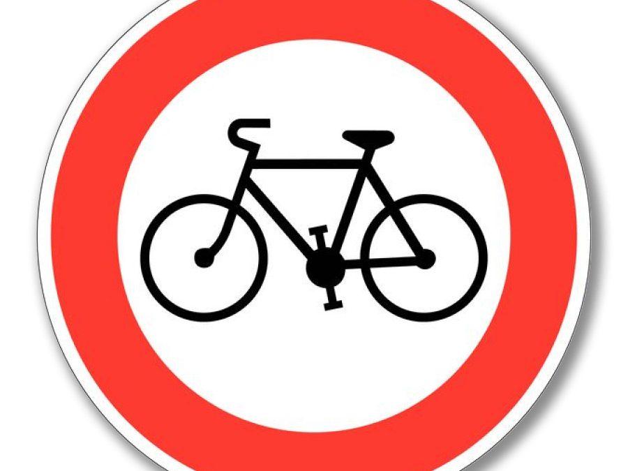 Brandenburg afgesloten voor fietsers