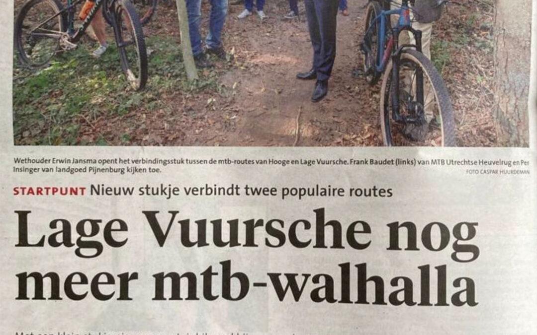 Lage Vuursche nog meer mtb-walhalla